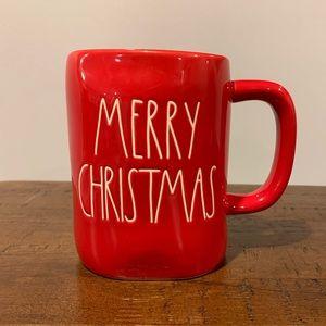 Rae Dunn Red MERRY CHRISTMAS Mug